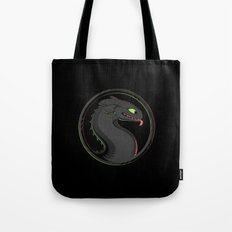 Dragon Kombat Tote Bag
