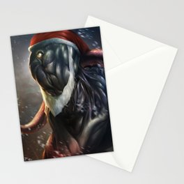 A taste of Lovecraftian Xmas Stationery Cards
