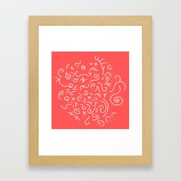 Signs of the Astral Gods Framed Art Print