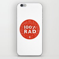 the 100 iPhone & iPod Skins featuring 100% Rad by Chase Kunz