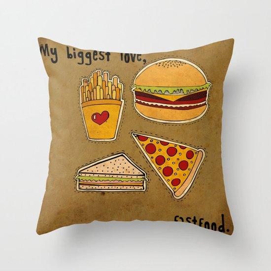My Biggest Love Throw Pillow