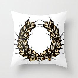 Grown Of Thorns Throw Pillow