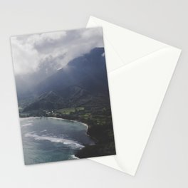 Hanalei Bay - Kauai, Hawaii Stationery Cards