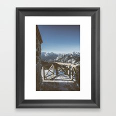 Mountaintop Lookout  Framed Art Print