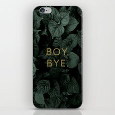 Boy, Bye - Vertical iPhone & iPod Skin