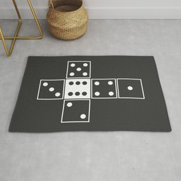 Gray Unrolled D6 Rug