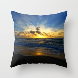 With Each Sunrise We Start Anew Throw Pillow