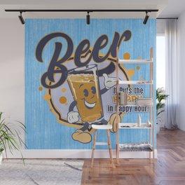 Happy Hour BEER Wall Mural