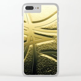 Veins of Gold Clear iPhone Case