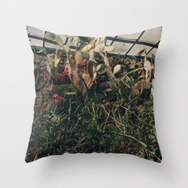 Greenhouse III Throw Pillow