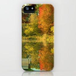 Autumn Temptations iPhone Case