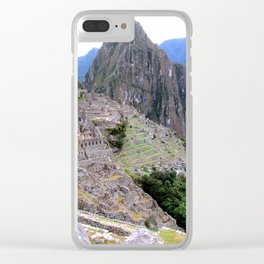 One Wonder of the World Clear iPhone Case