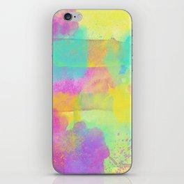 Rainbowcolors Watercolor iPhone Skin