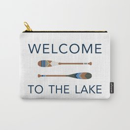 Welcome to the Lake Carry-All Pouch