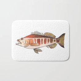 Blacktail Comber: Fish of Portugal Bath Mat
