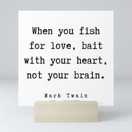69     Mark Twain Quotes   190730 Mini Art Print