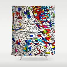 colourful! Shower Curtain