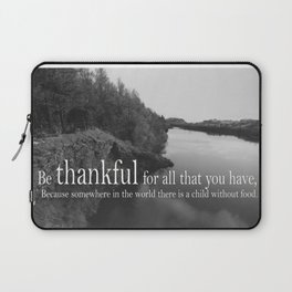 Be Thankful Laptop Sleeve