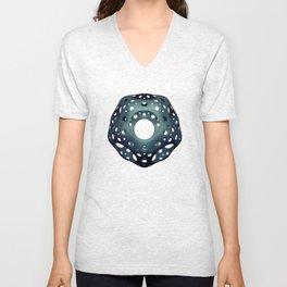Cavus Icosahedron Unisex V-Neck