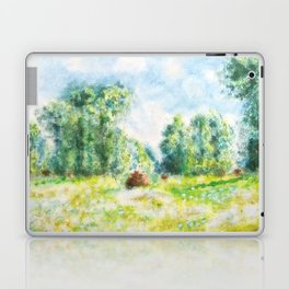 Spring in Giverny Monet Claude Laptop & iPad Skin