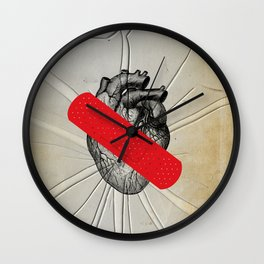 Color Chaos Collection -- First Aid Wall Clock