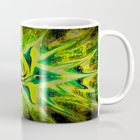 rasta Mugs featuring RASTA STAR by EclecticArtistACS