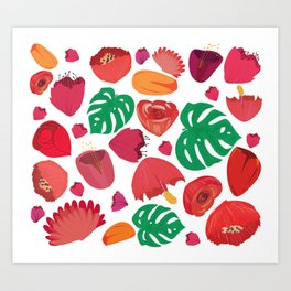 Imagine all that pollen Art Print