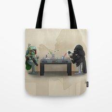 Star Poker Game Tote Bag