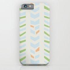 Chevron pale iPhone 6s Slim Case