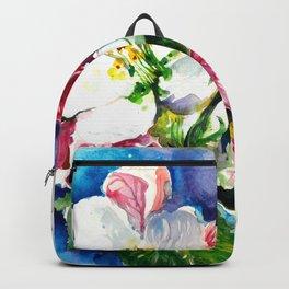 Sakura - Tree Blossom Watercolor Backpack