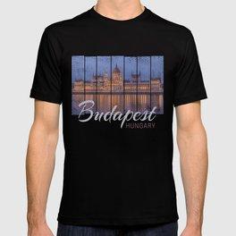 Budapest Parliament Hungary souvenir T-shirt
