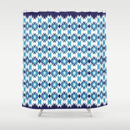 Woven Pattern 4.0 Shower Curtain