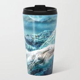 Whale Moon Travel Mug