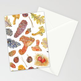 Forest Treasures - Pattern Stationery Cards