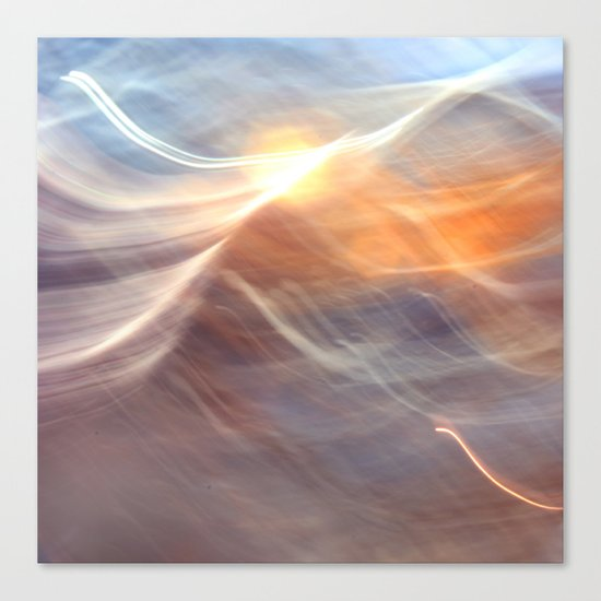 Earth , Wind & Fire (abstract) Canvas Print