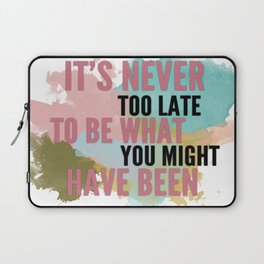 Typography Laptop Sleeve