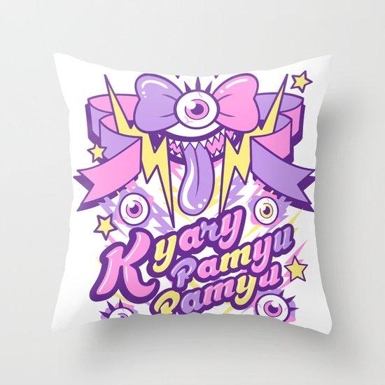 Kyary Pamyu Pamyu Print Throw Pillow