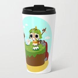 Monster Hunter - Felyne and Poogie Travel Mug