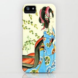 Psychedelic Love iPhone Case