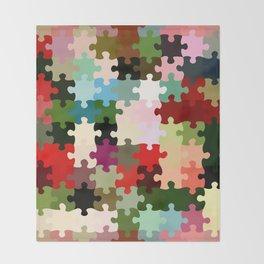 Jigsaw Throw Blanket