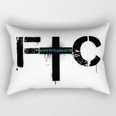 FindChaos - Logo Rectangular Pillow