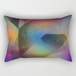 Cuts XX - Colour vs Form Rectangular Pillow