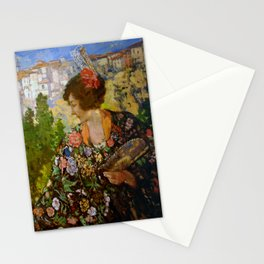 Cuenca by Lillian Genthe Stationery Cards