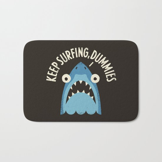 Great White Snark Bath Mat