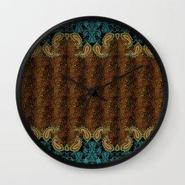 Paisley Skin Wall Clock