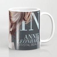 snk Mugs featuring SnK Magazine: Annie by putemphasis