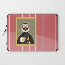 Nobleman with his Hand on his Chest by Greco Laptop Sleeve