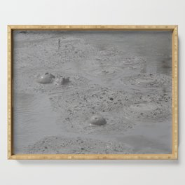 Bubbles of Mud Serving Tray
