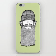 Lumberjack McBeardy iPhone & iPod Skin