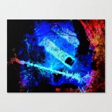 midnite match stick Canvas Print
